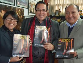 Alcaldes del norte del Perú se suman a la campaña de Rompiendo el Silencio