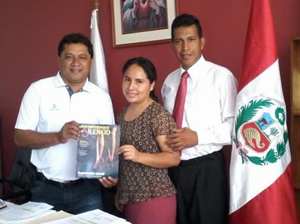 Alcaldes del norte del Perú se suman a la campaña de Rompiendo el Silencio1