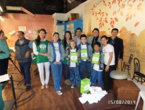 Equipo que representó a ADRA Paraguay en medio de comunicación.