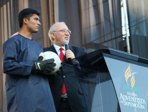 Arquero de fútbol en Perú fue dado por muerto, pero Dios tenía un plan para