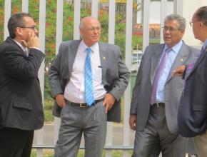 Administradores de Nuevo Tiempo Brasil, Nuevo Tiempo Bolivia, Misión del Oriente Boliviano y Director de la Radio Mundial Adventista.
