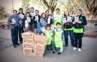 Familias inician la primavera haciendo entrega del libro La Única Esperanza.
