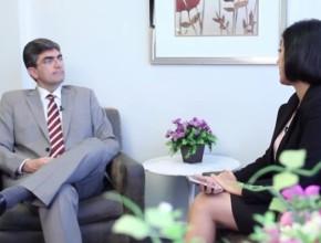Pastor Magdiel Pérez Schulz, Secretario Ejecutivo de la Iglesia Adventista para América del Sur, en entrevista para la Agencia Adventista Sudamericana de Noticias.