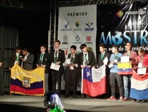 Del 27 al 31 de Octubre en Novo Hamburgo  - Brasil se realizó la Feria Mundial de Ciencias MOSTRATEC.