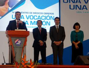 Inicia encuentro de médicos obreros en Perú