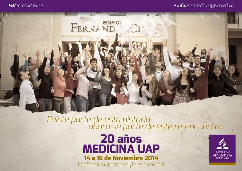 Se cumplen 20 años de la carrera de medicina en la UAP