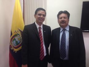 Pr. Pablo Carbajal y Pr. Freddy Guerrero, nuevos líderes de los campos misioneros en la UE.