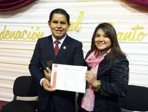 Pr. Gerson Guzmán, pastor de la Clínica Americana de Juliaca.