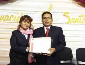 Pr. Jorge Chavarría, pastor distrial de Pizacoma, Puno.