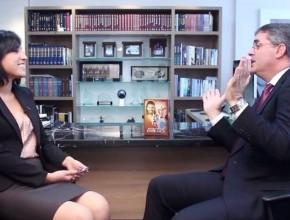 Líder sudamericano da entrevista exclusiva para el noticiero semanal de entrevistas, ASNTV.