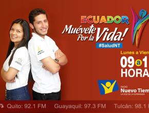 """""""Ecuador muévete por la vida"""", también tiene como propósito de promocionar un estilo de vida saludable"""