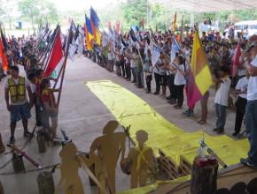 Conquistadores bolivianos reunidos en el sétimo Campori del Oriente Boliviano