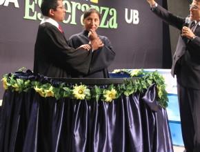 Bautismo realizado en el ultimo día de la Asamblea Unida