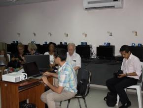 Talleres práticos sobre como manejar las redes sociales para la misión también tuvieron espacio en evento