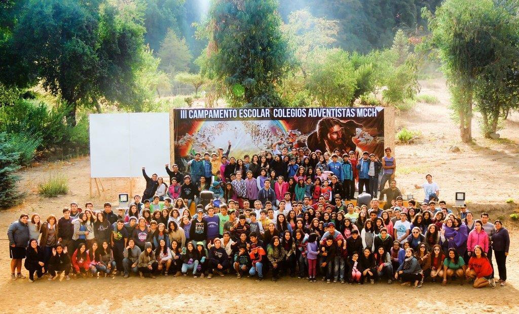 Los colegios adventistas de Molina, Talca y Rancagua, realizaron III campamento escolar.