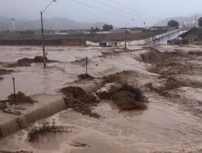 Un aluvión arrasó con todo en la ciudad de Copiapó. © Sissi Ingrid Alvarado de la Fuente