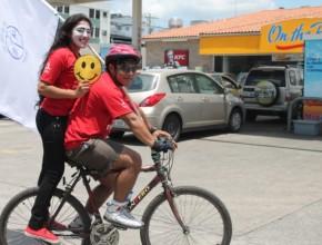 La bicicleta de la felicidad.