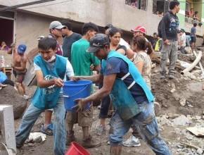 Primera respuesta de ADRA - Perú ante la situación que se vive a causa de los huaycos.