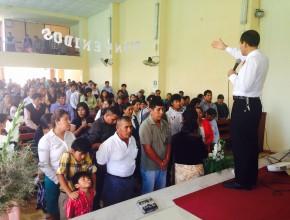 Cerca de 15 mil personas conocerán la pasión de Cristo a través de los aproximadamente 7500 centros de predicación.