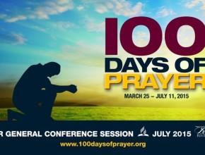 Los 100 días de oración inician mañana.