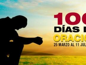Los 100 días de oración inician hoy, 25 de marzo.