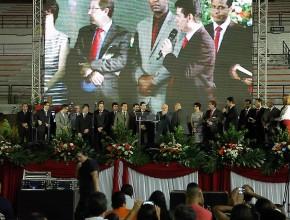 Evento celebrou os 45 anos do programa de Semana Santa realizada pela Igreja Adventista do Sétimo Dia.