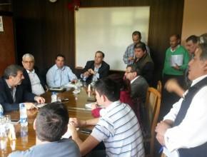 Conferencia de Prensa Líderes de la iglesia con Autoridades del Municipio de Rivadavia
