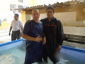 Líder de banda de asaltantes se bautiza en Semana Santa en Yurimaguas