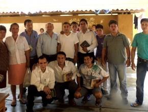 Líder de banda de asaltantes se bautiza en Semana Santa en Yurimaguas1