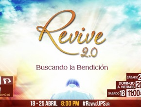 Semana satelital Revive 2.0 será del 18 al 25 de abril.
