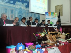 Conferencia de prensa se realizó en el Congreso de la República.