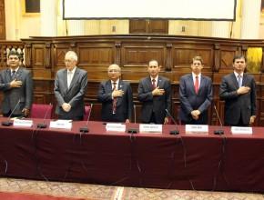 Acto se realizó en el Hemiciclo Porras Barrenechea.