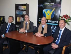 Inaguraciónde la nueva frecuencia de la radio Nuevo Tiempo en La Paz