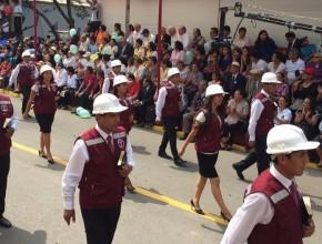 Desfile en la Universidad Peruana Unión.