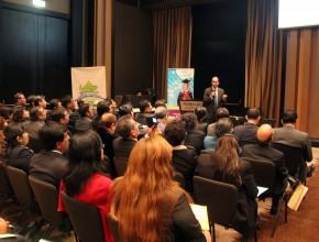Simposio contó con ponentes nacionales e internacionales.