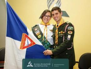 Esposos Macedo, voluntarios enviados a Perú  con el Servicio Voluntario Adventista.