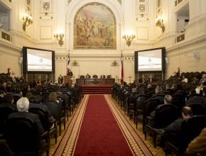 Exposiciones sobre Libertad Religiosa desde distintos aspectos como legales, políticos y religiosos. ®Alfredo Müller