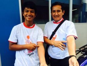 Salvar vidas es lo que motivó a cada joven. La campaña recaudó 870 unidades de sangre en total.