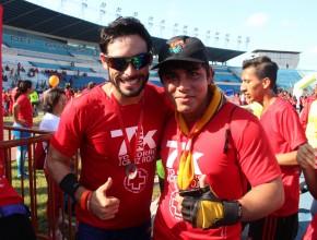 Juan José Jaramillo, motivando a los jóvenes adventistas a continuar compartiendo vida