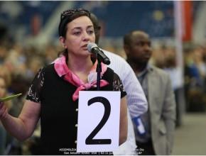 Los delegados tuvieron la oportunidad de opinar, sugerir y recomendar modificaciones durante la reunión administrativa.