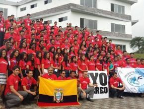 """""""Sueña en grande"""", un programa que unió a los jóvenes de Ecuador"""