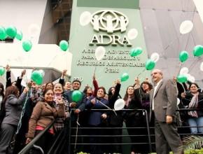 Globos se elevaron llevando gratitud y peticiones al cielo por los 50° Aniversario de ADRA - Perú.