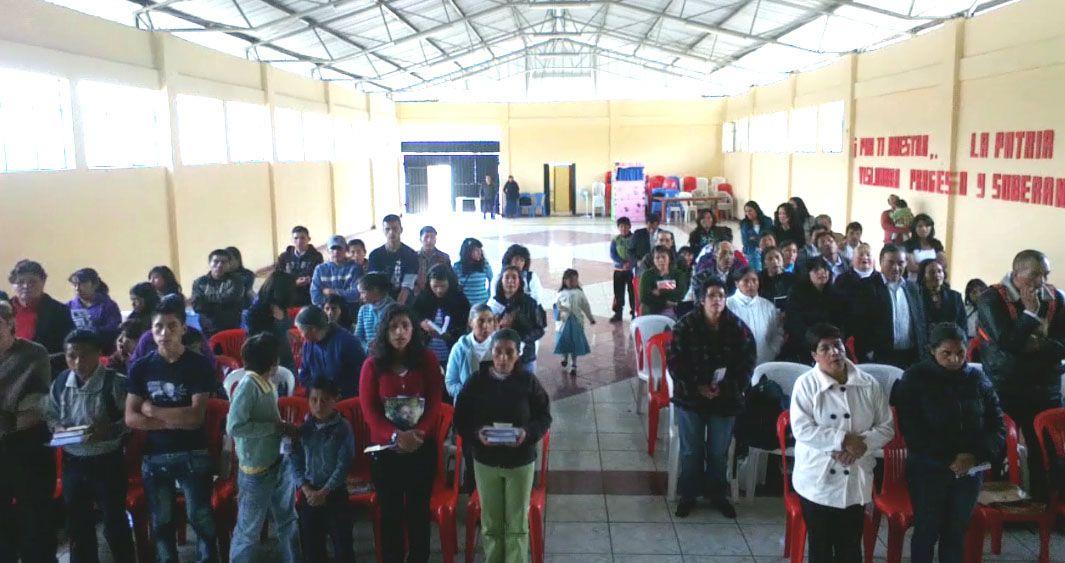 Nueva iglesia en Ecuador: fruto de misión global