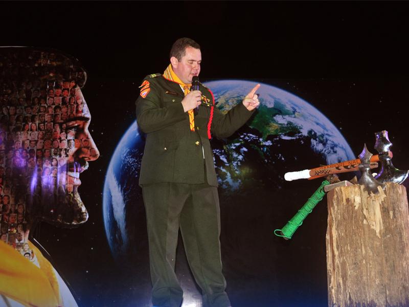 Apertura del Camporí nacional de Conquistadores en Bolivia