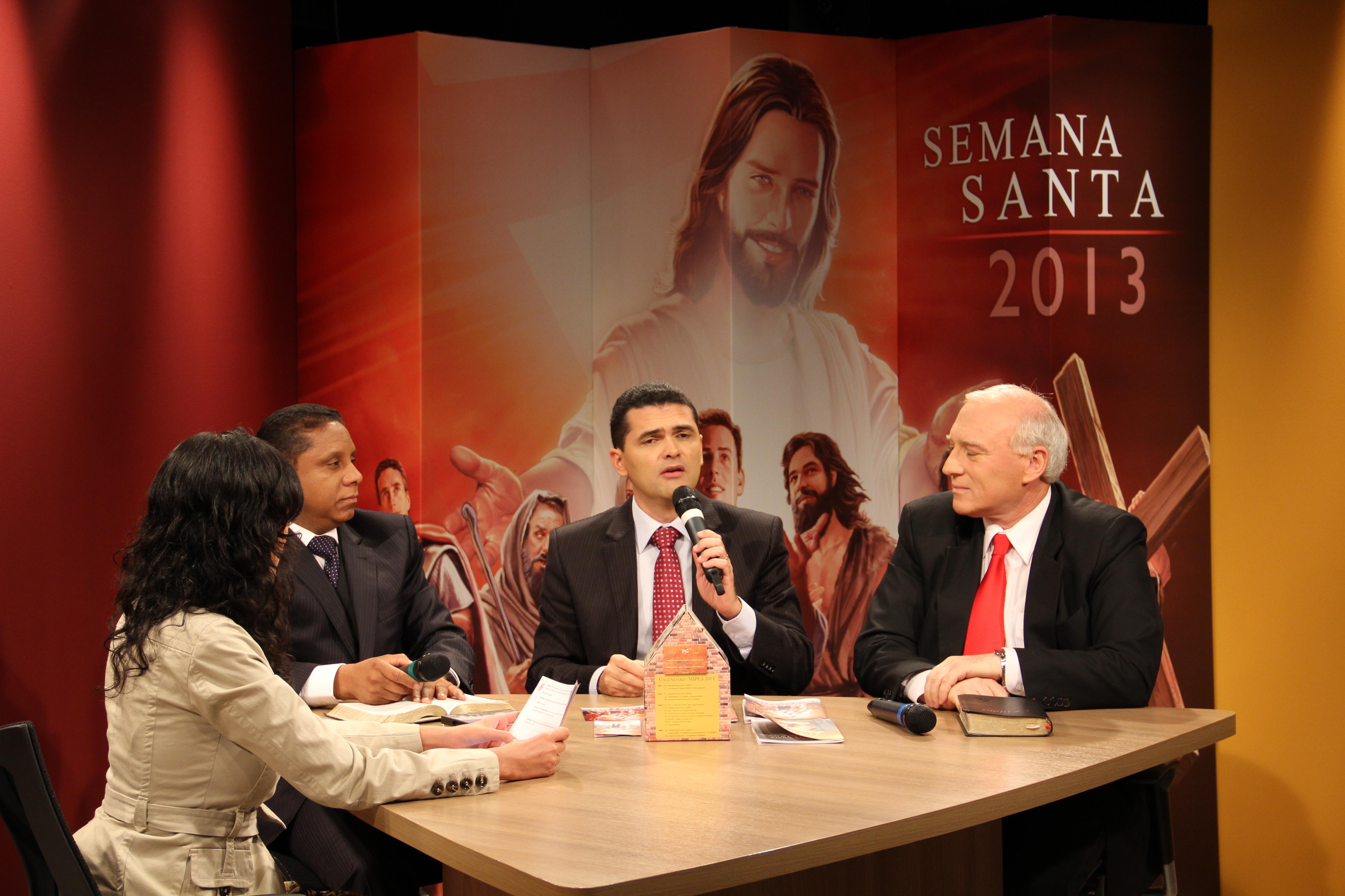 Líderes en capacitación por Semana Santa