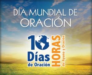 Banner de los 10 días de oración y 10 horas de ayuno y oración