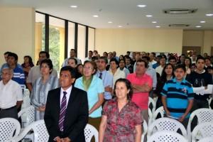 I Encuentro de Pioneros, Plantadores de Iglesias y Líderes de Grupos Pequeños en la Universidad Adventista de Paraguay.
