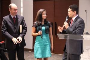 La joven Agatha Cristiane, miembro de la iglesia adventista de Guará