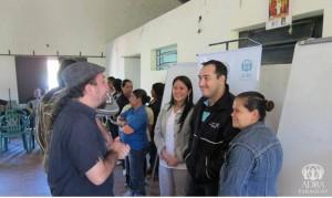 Desarrollo del taller de ADRA en Paraguay.