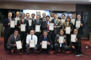 El liderazgo sudamericano muestra el documento de compromiso